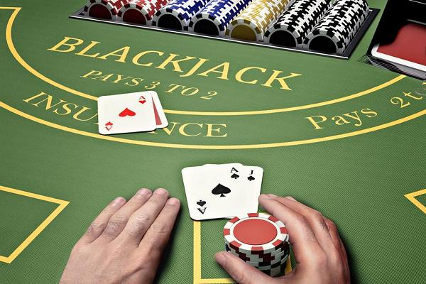 ブラックジャックカード